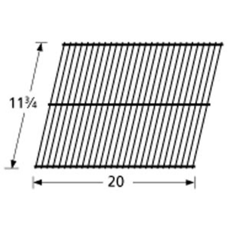 """4170 110 Sunbeam Galvanized Steel Wire Rock Grate 11.75"""" x 20"""""""
