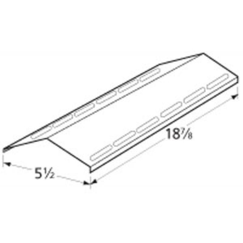 "FT720-0133 Nexgrill Stainless Steel Heat Plate 18.875"" x 5.5"""