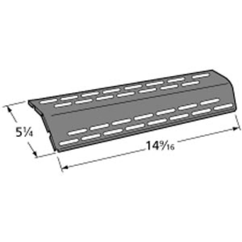 """9991511 Porcelain Steel Heat Plate 14.5625"""" x 5.25"""""""