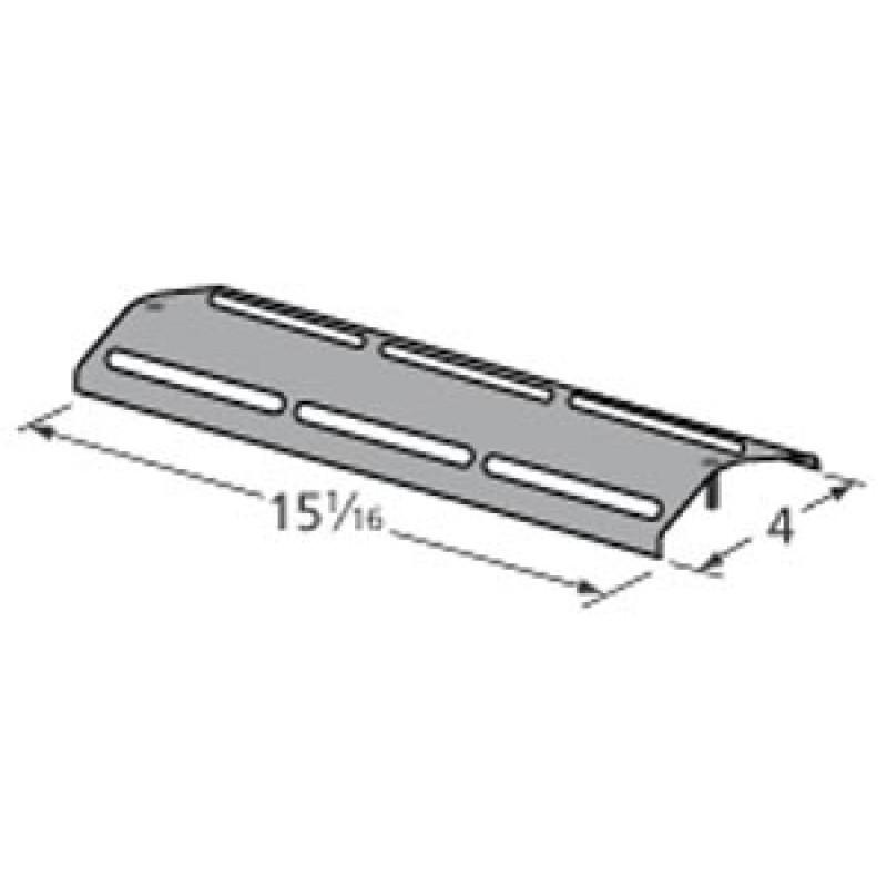 "P017080034B Kenmore Porcelain Steel Heat Plate 15.0625"" x 4"""