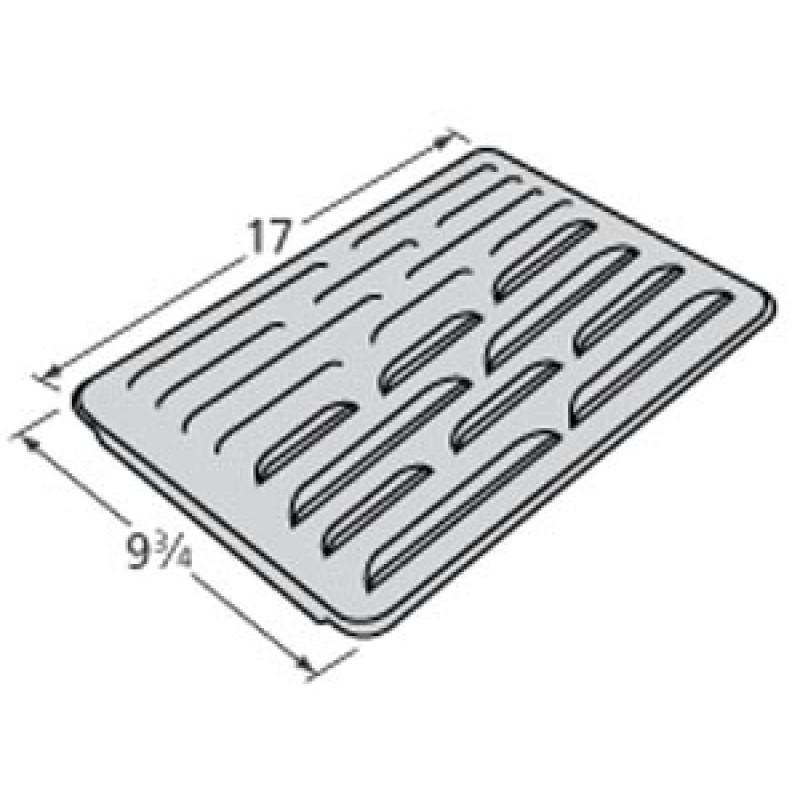 """P1721B Sams Steel Heat Plate 17"""" x 9.75"""""""