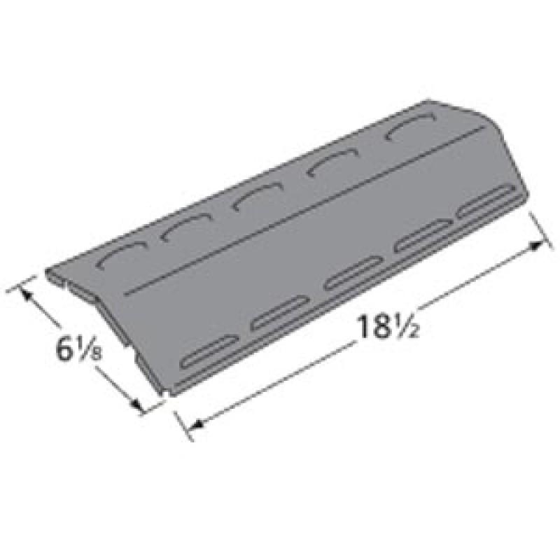 """9992081 Porcelain Steel Heat Plate 18.5"""" x 6.125"""""""