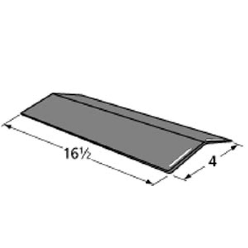 """9992151 Porcelain Steel Heat Plate 16.5"""" x 4"""""""