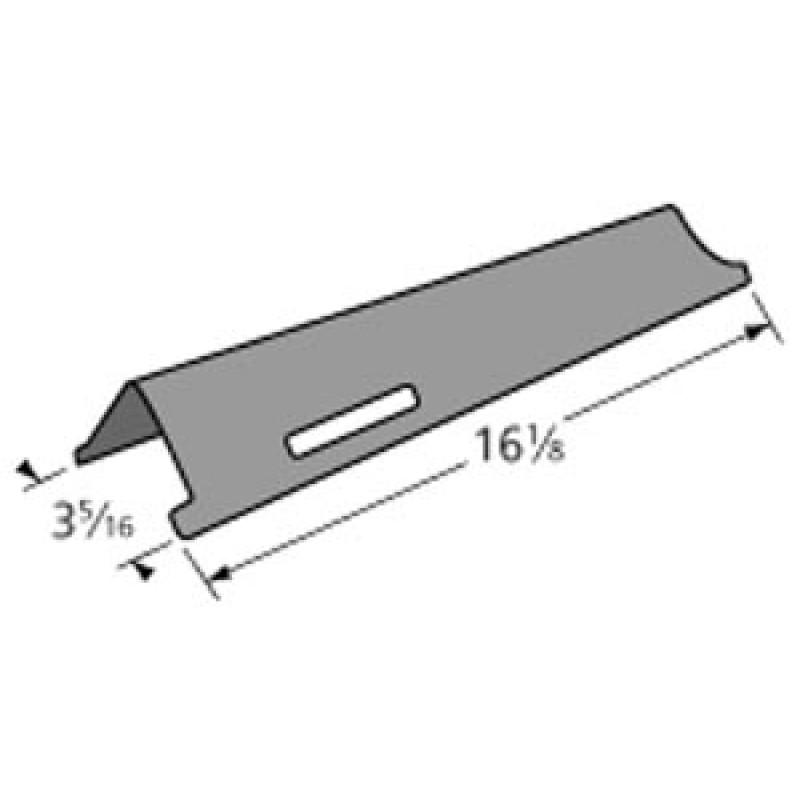 "SA0376 Kenmore Porcelain Steel Heat Plate 16.125"" x 3.3125"""