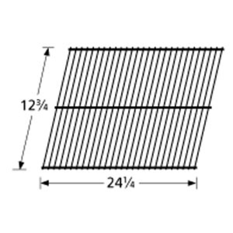 "40 3617 Sunbeam Galvanized Steel Wire Rock Grate 12.75"" x 24.25"""