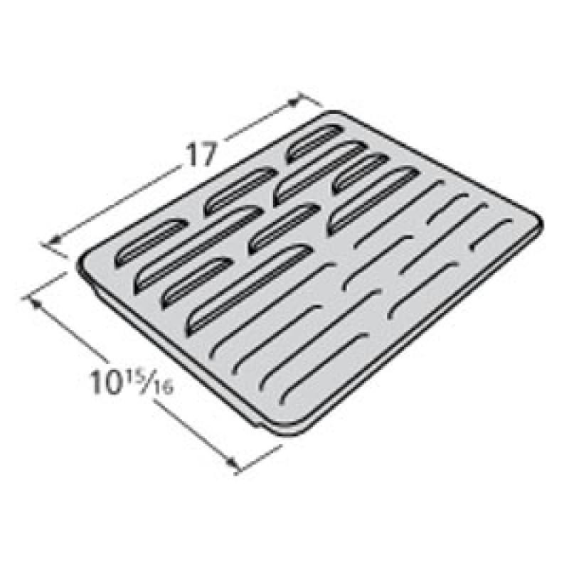 "P1711C Sams Steel Heat Plate 17"" x 10.9375"""