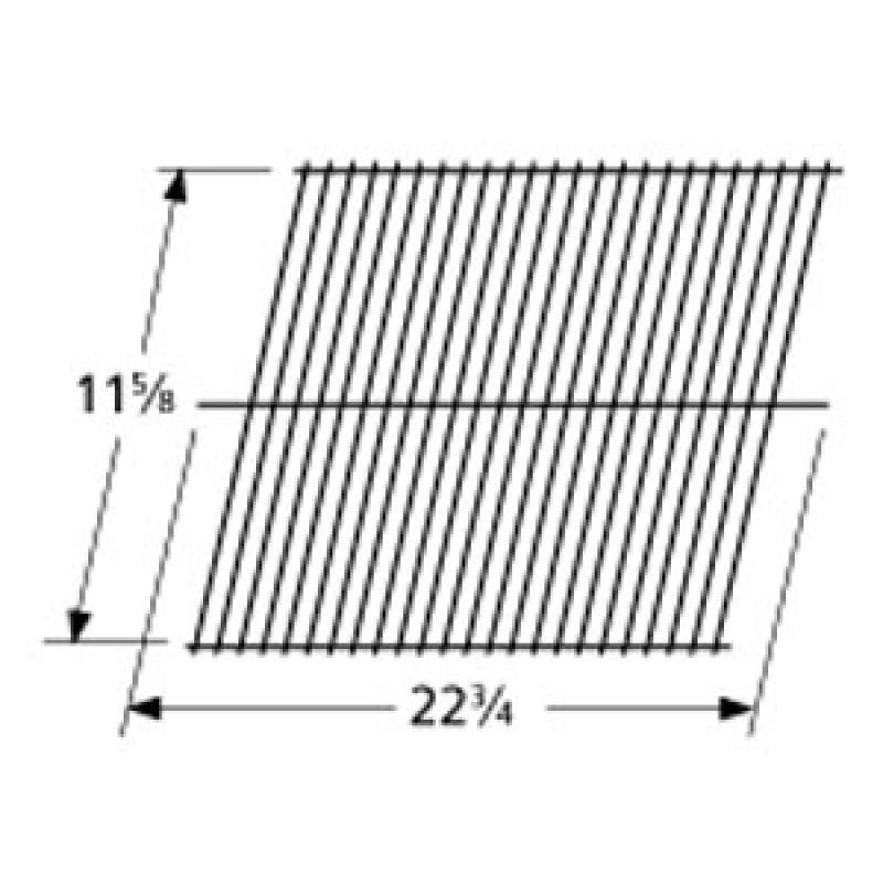 """9993101 Galvanized Steel Wire Rock Grate 11.625"""" x 22.75"""""""