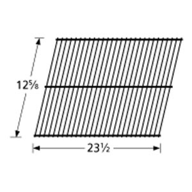 "9993201 Galvanized Steel Wire Rock Grate 12.625"" x 23.5"""