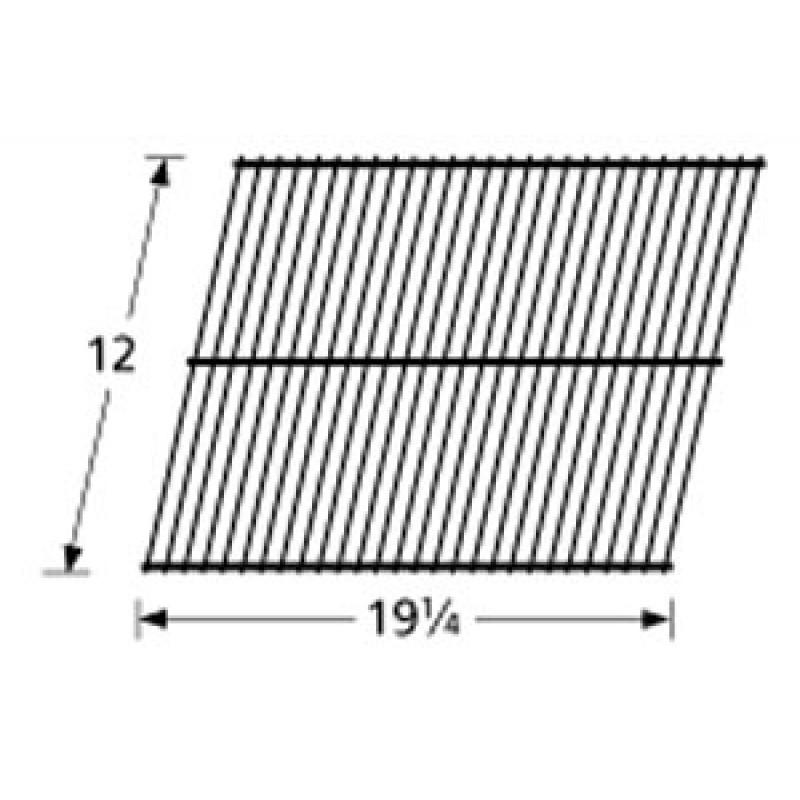 """SP24-9G Galvanized Steel Wire Rock Grate 12"""" x 19.25"""""""