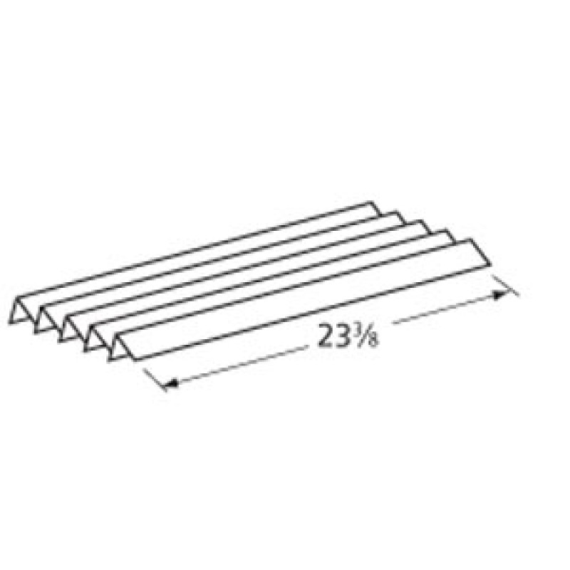 """9993851 Stainless Steel Heat Angle 23.375"""" x 2.125"""""""