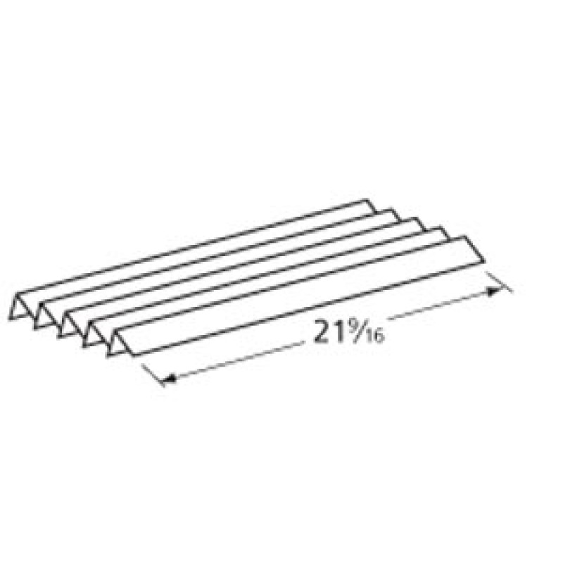 """9811 Weber Stainless Steel Heat Angle 21.5625"""" x 1.875"""""""