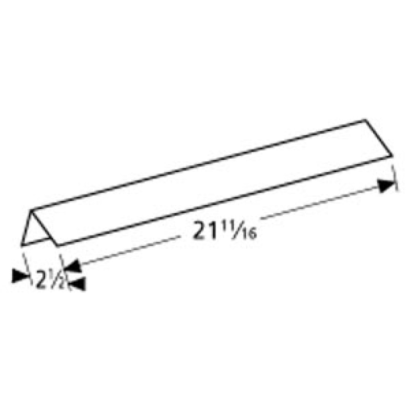 """4156419 Charbroil Stainless Steel Heat Angle 21.6875"""" x 2.5"""""""