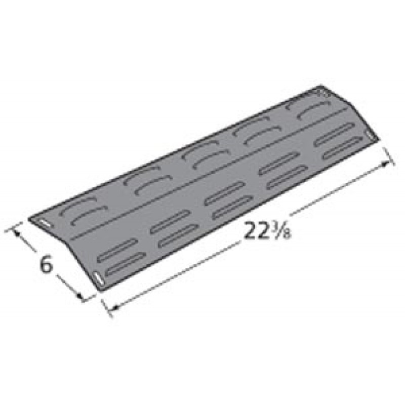 "9994241 Porcelain Steel Heat Plate 22.375"" x 6"""