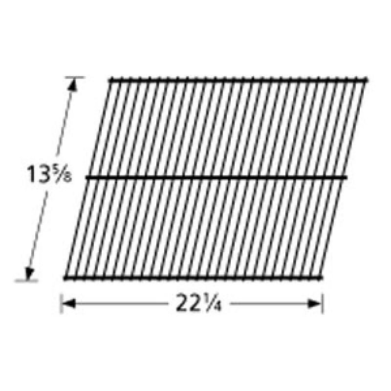 """0417 0105 Sunbeam Galvanized Steel Wire Rock Grate 13.625"""" x 22.25"""""""