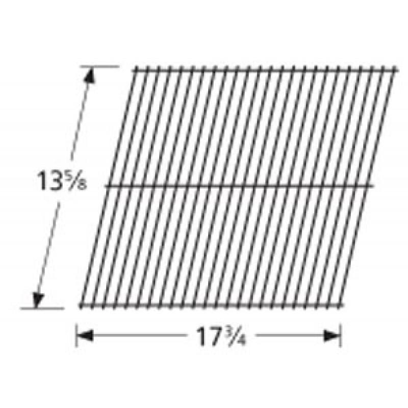 """9994321 Galvanized Steel Wire Rock Grate 13.625"""" x 17.75"""""""