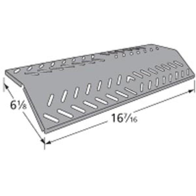 """9994641 Porcelain Steel Heat Plate 16.4375"""" x 6.125"""""""