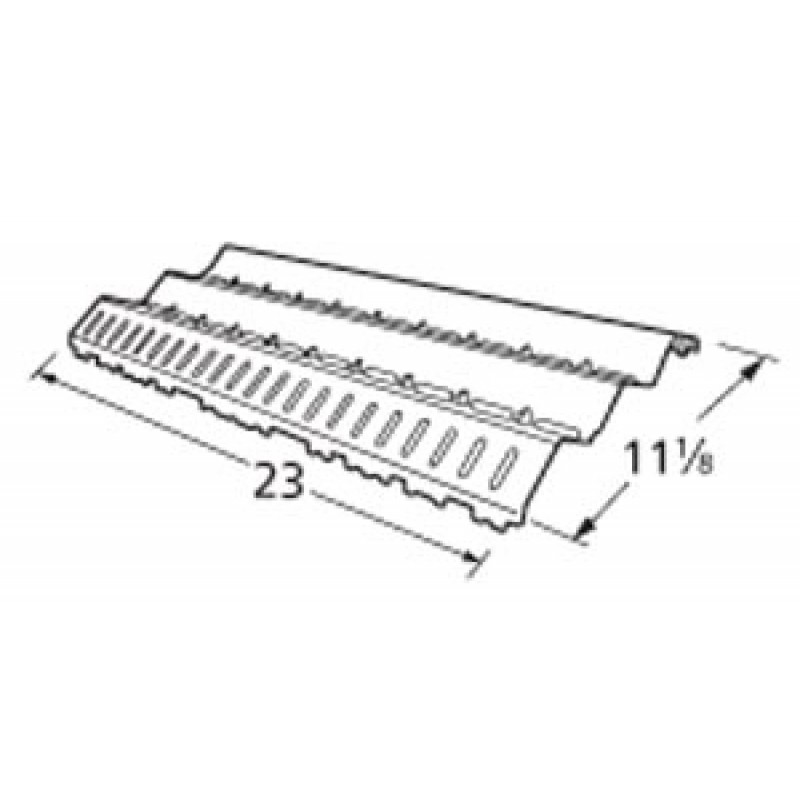 """9994881 Stainless Steel Heat Plate 11.125"""" x 23"""""""
