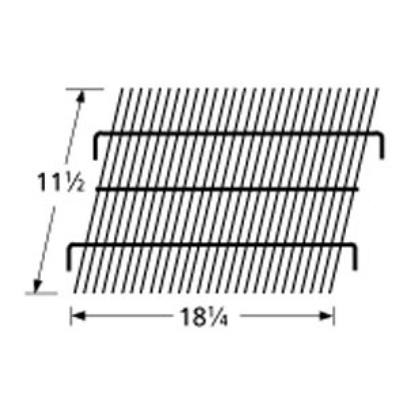 """9995001 Galvanized Steel Wire Rock Grate 11.5"""" x 18.25"""""""