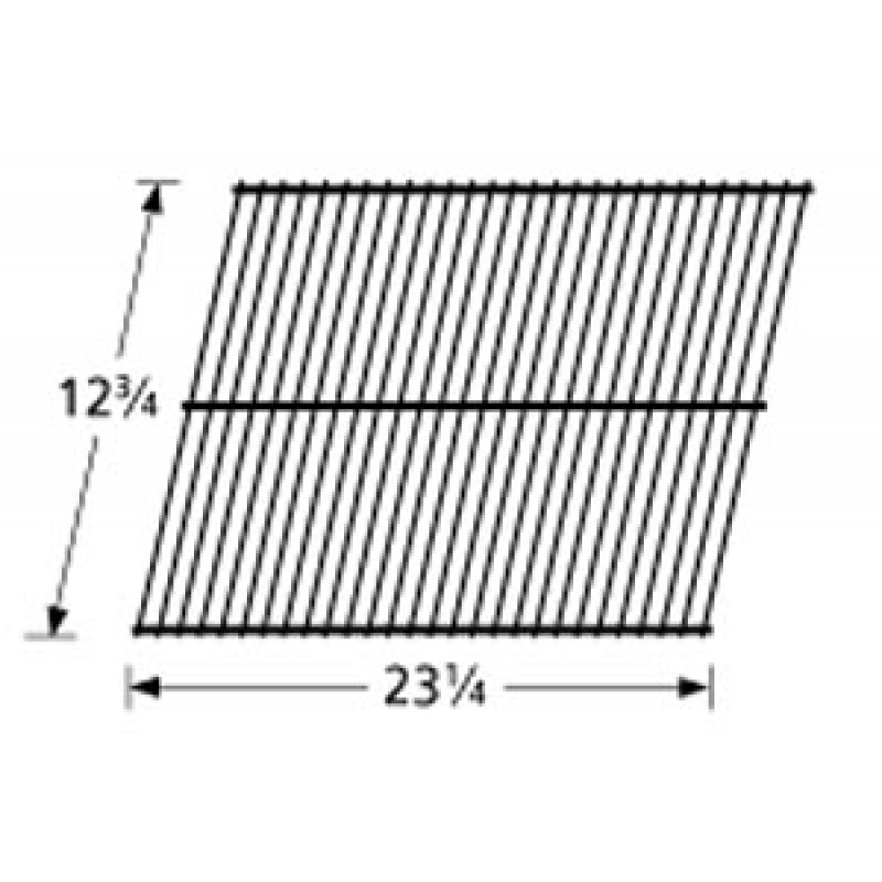 "9995101 Galvanized Steel Wire Rock Grate 12.75"" x 23.25"""