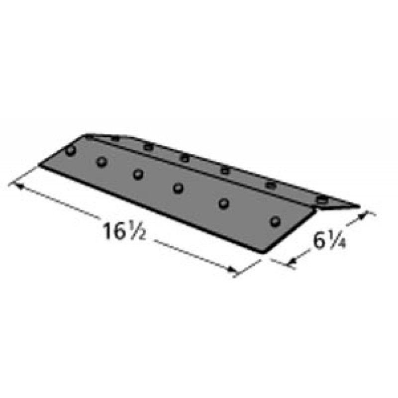 "9995131 Porcelain Steel Heat Plate 16.5"" x 6.25"""
