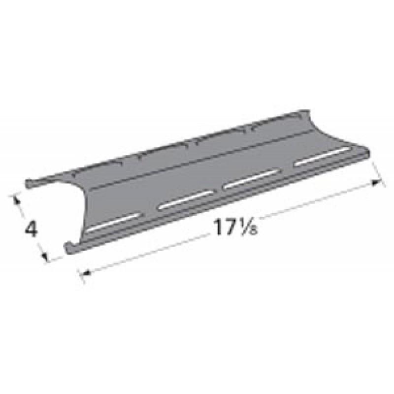 """9995201 Porcelain Steel Heat Plate 17.125"""" x 4"""""""