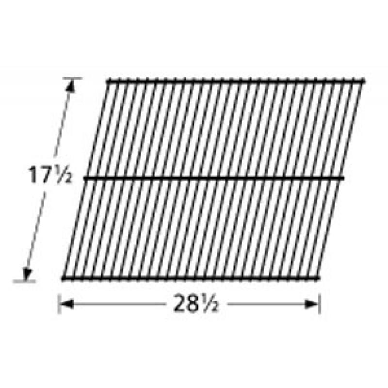 """9995401 Galvanized Steel Wire Rock Grate 17.5"""" x 28.5"""""""