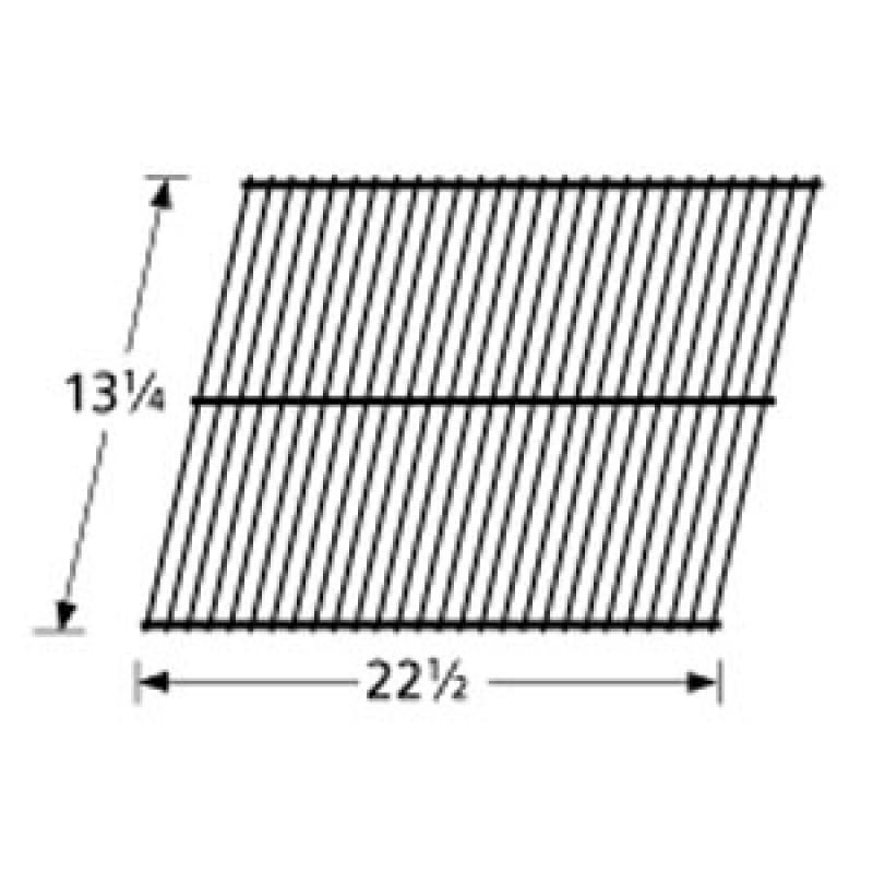 """9996101 Galvanized Steel Wire Rock Grate 13.25"""" x 22.5"""""""