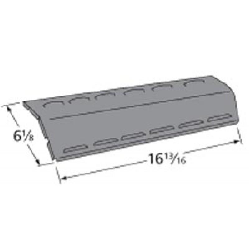 """9996301 Porcelain Steel Heat Plate 16.8125"""" x 6.125"""""""