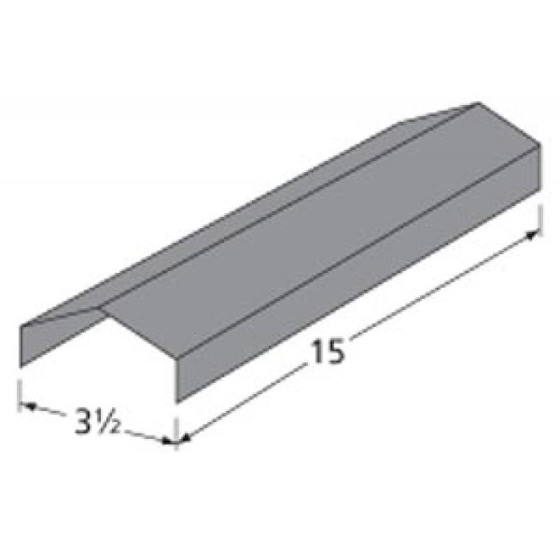 """9996731 Porcelain Steel Heat Plate 15"""" x 3.5"""""""