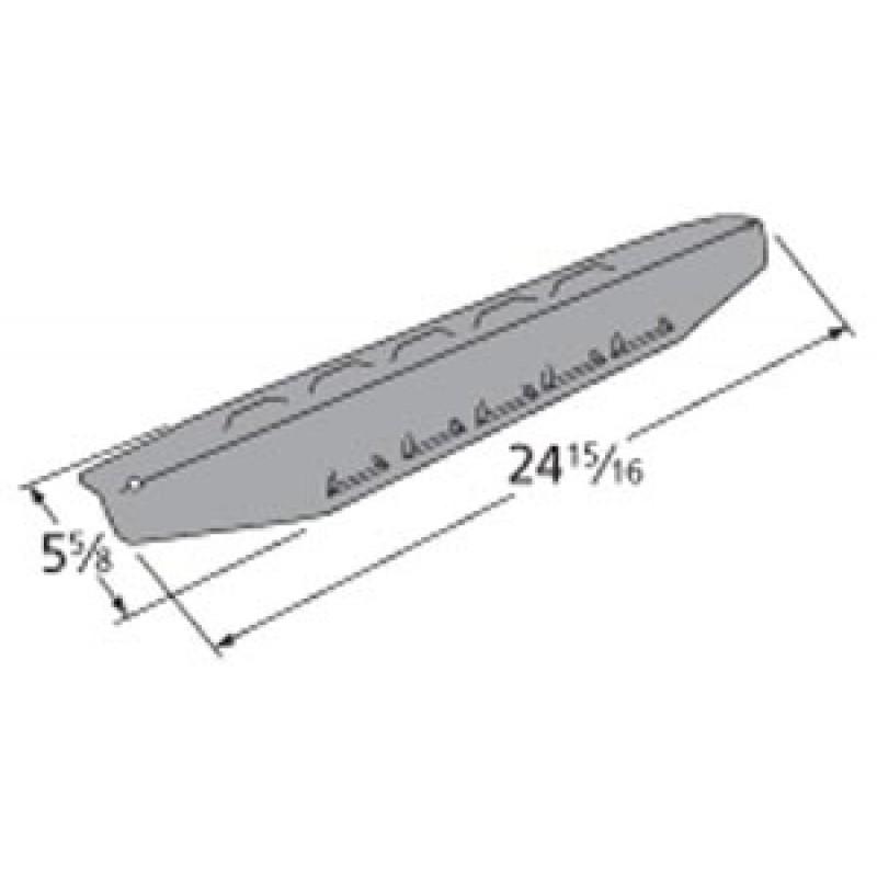 """9997411 Porcelain Steel Heat Plate 24.9375"""" x 5.625"""""""