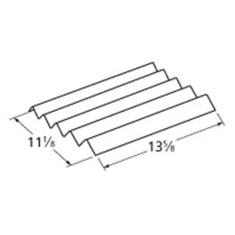 """P1743A Kenmore Stainless Steel Heat Plate 13.625"""" x 11.125"""""""