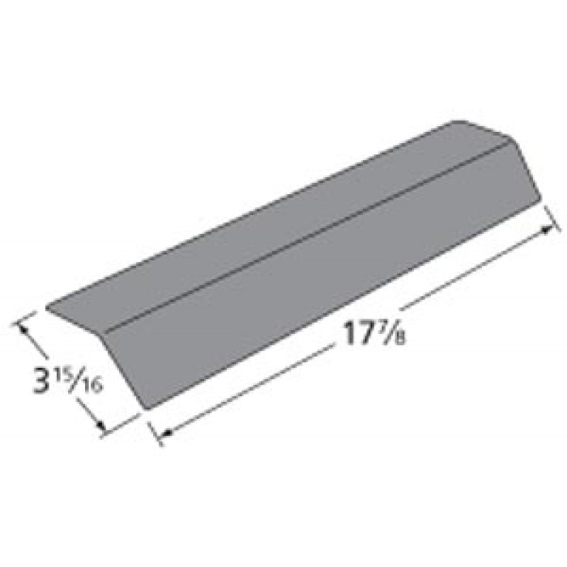 "9997751 Porcelain Steel Heat Plate 17.875"" x 3.9375"""