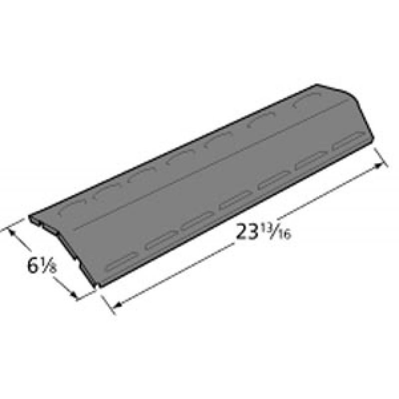 "80009840 Charbroil Porcelain Steel Heat Plate 23.8125"" x 6.125"""