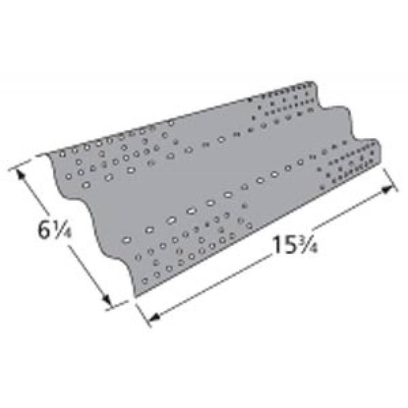 """9998551 Porcelain Steel Heat Plate 15.75"""" x 6.25"""""""