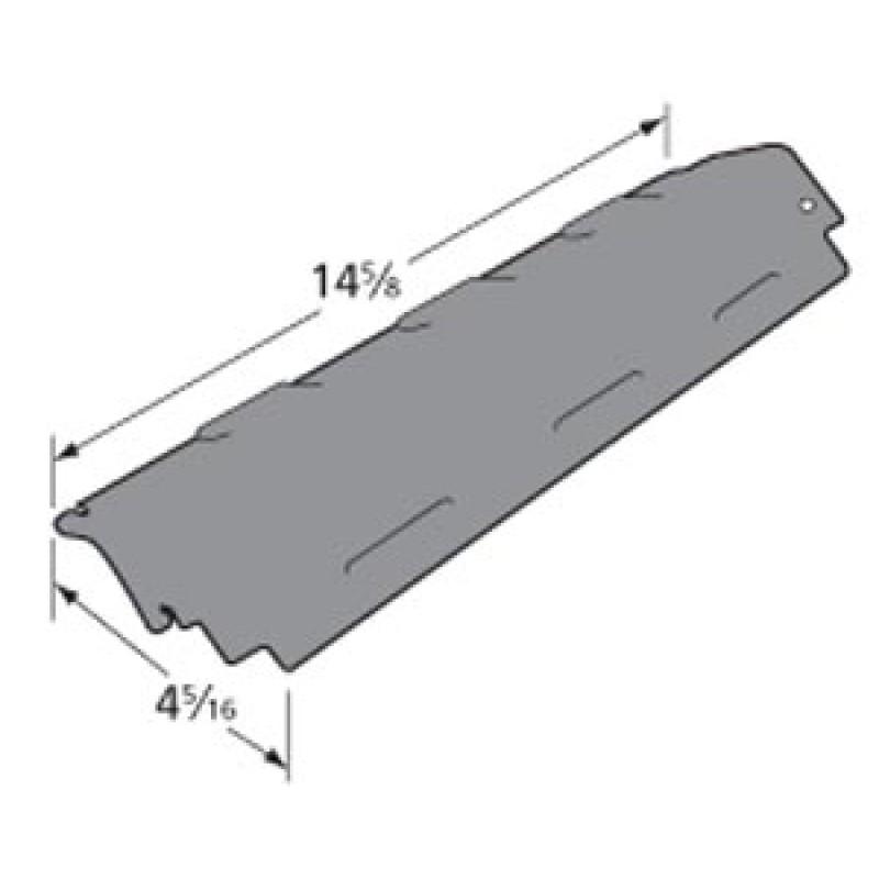 "80008074 Charbroil Porcelain Steel Heat Plate 14.625"" x 4.3125"""