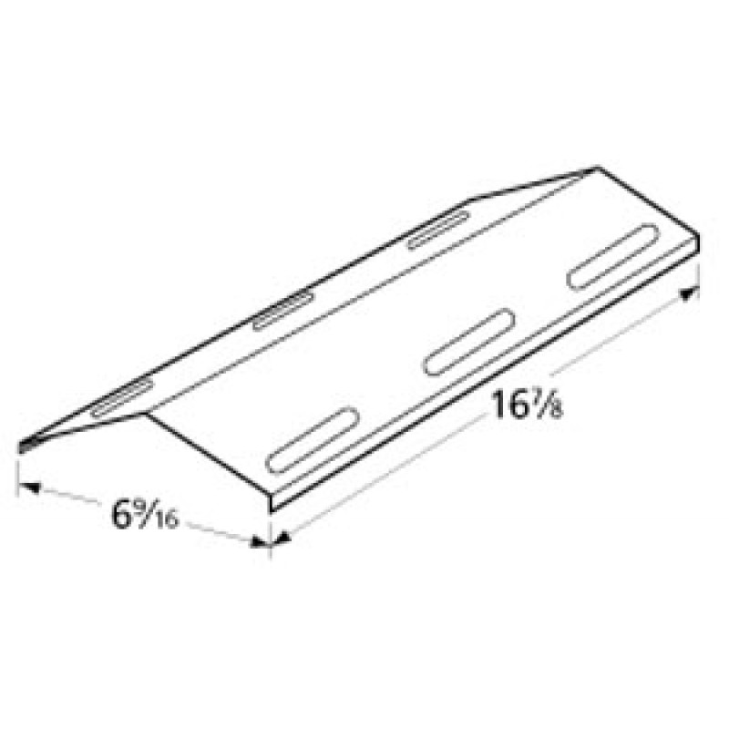 """9999341 Stainless Steel Heat Plate 16.875"""" x 6.5625"""""""