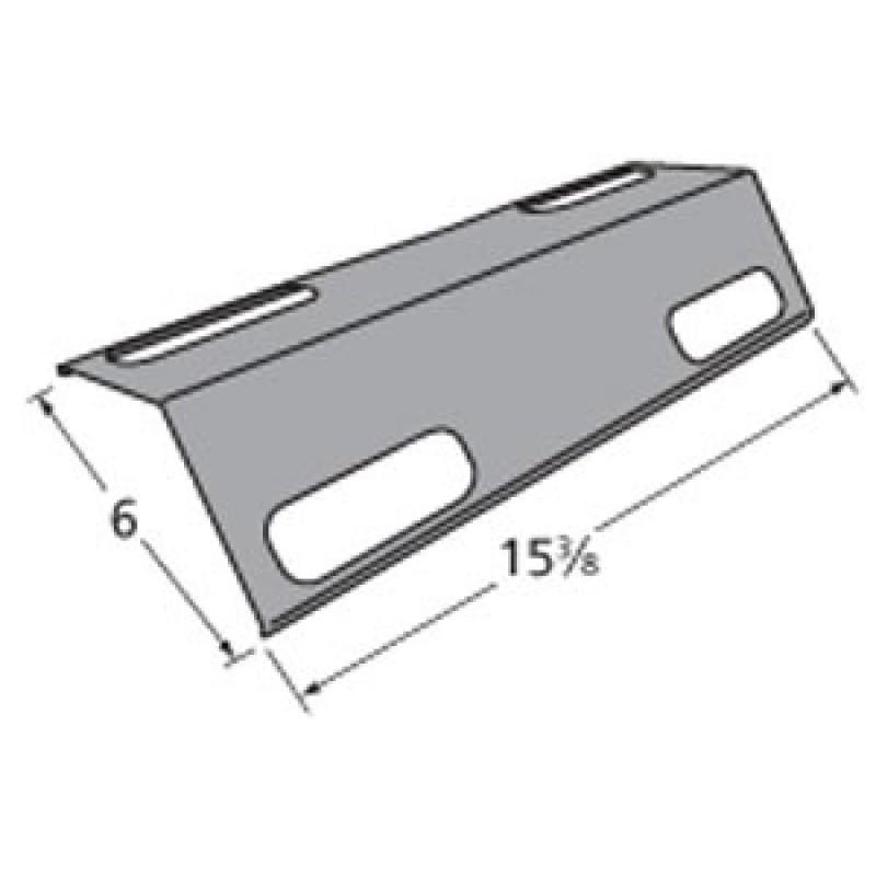 """30501013 Ducane Porcelain Steel Heat Plate 15.375"""" x 6"""""""