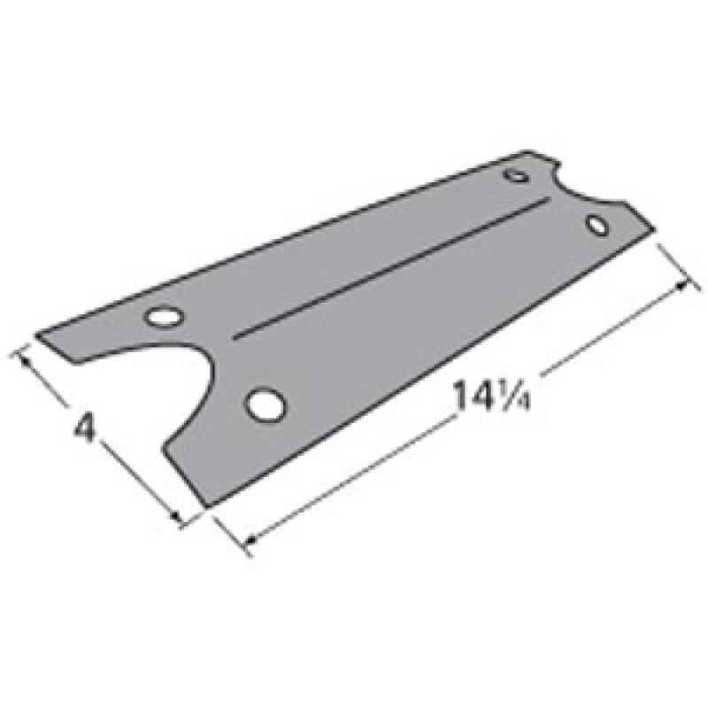 """9999411 Porcelain Steel Heat Plate 14.25"""" x 4"""""""