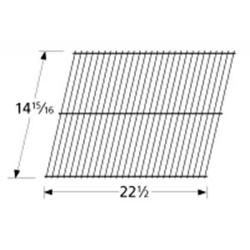 "9958682 Porcelain Steel Wire Cooking Grid 15"" x 22-3/4"""